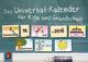 Der Universal-Kalender für Kita und Grundschule ab 2019