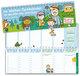 Der Wochen-Tischkalender für das Kita-Jahr 2021/2022