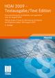 HOAI 2009-Textausgabe/HOAI 2009-Text Edition