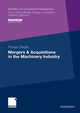 Mergers and Acquisitions in the Machinery Industry