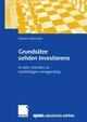 Grundsätze soliden Investierens