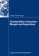 Creating Value in Insurance Mergers and Acquisitions