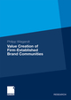 Value Creation of Firm-Established Brand Communities