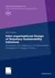 Inter-organisational Design of Voluntary Sustainability Initiatives