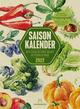 Saisonkalender - Obst & Gemüse - Graspapier-Kalender 2022