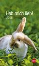 Hab mich lieb!: Kaninchen 2018