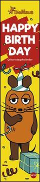 Die Maus Geburtstagskalender long
