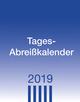 Tagesabreißkalender klein 2019