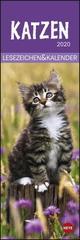 Katzen - Lesezeichen & Kalender 2020