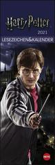 Harry Potter - Lesezeichen & Kalender 2021