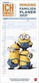 Minions Familienplaner Kalender 2021