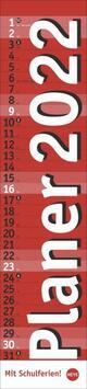 Planer long, rot Kalender 2022