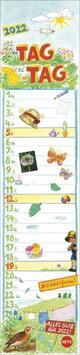 Streifenkalender Von Tag zu Tag Kalender 2022