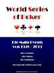 Die World Series of Poker Main Events von 1970 bis 2013
