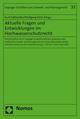 Aktuelle Fragen und Entwicklungen im Hochwasserschutzrecht