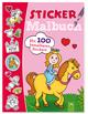 Stickermalbuch Prinzessinnen und Pferde
