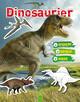 Dinosaurier - Stickern, Rätseln, Malen