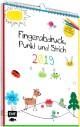Fingerabdruck, Punkt und Strich 2019 - Mein Mitmachkalender