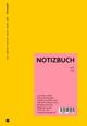 Wende-Notizbuch gelb-rosa