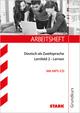 STARK Arbeitsheft Deutsch als Zweitsprache - Grundkurs: Lernfeld 2