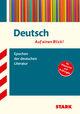 STARK Deutsch - auf einen Blick! Epochen der deutschen Literatur