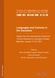 Languages and Cultures in the Caucasus.