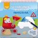 Kreativ Kids - Schablonen-Malbuch Fahrzeuge