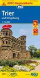 ADFC-Regionalkarte Trier und Umgebung mit Tagestouren-Vorschlägen, 1:50.000, reiß- und wetterfest, GPS-Tracks Download