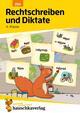 Rechtschreiben und Diktate 4. Klasse, A5-Heft