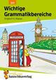 Wichtige Grammatikbereiche. Englisch 5. Klasse, A5-Heft
