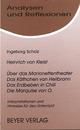 Heinrich von Kleist: Über das Marionettentheater/Das Käthchen von Heilbronn/Das Erdbeben in Chili/Die Marquise von O