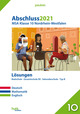 Abschluss 2021 - Mittlerer Schulabschluss Nordrhein-Westfalen Lösungen