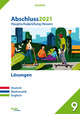 Abschluss 2021 - Hauptschulprüfung Hessen - Lösungen