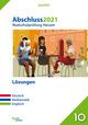 Abschluss 2021 - Realschulprüfung Hessen - Lösungen