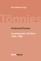 Ferdinand Tönnies: Soziologische Schriften 1906-1909