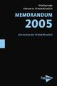 Memorandum 2005