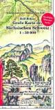 Große Karte der Sächsischen Schweiz 1:30000