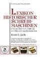 Lexikon historischer Schreibmaschinen 1 (A-O)