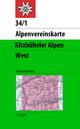 Kitzbüheler Alpen, Westliches Blatt