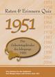 Raten & Erinnern Quiz 1951