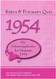 Raten & Erinnern Quiz 1954