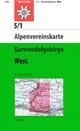 Karwendelgebirge - Westliches Blatt