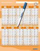 Unregelmäßige Verben/irregular Verbs - Zeitformen - 1 Doppelfeld mit Stift