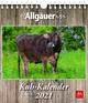 'Die Allgäuerin': Kuh-Kalender 2021