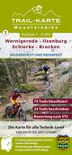 MTB Trail-Karte Harz 1: Wernigerode - Ilsenburg - Schierke - Brocken