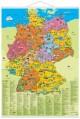 Illustrierte Politische Deutschlandkarte
