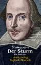 Der Sturm/The Tempest. Shakespeare. Zweisprachig: Englisch-Deutsch