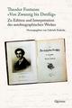 Theodor Fontanes 'Von Zwanzig bis Dreißig'