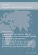 Zusammenspiel von National- und Professionskultur im internationalen Transfer des Performance Managements