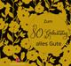 Zum 80. Geburtstag alles Gute